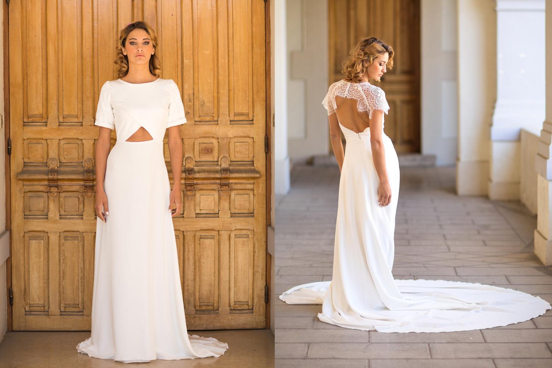 Lolette crée des robes à la fois intemporelles et modernes.