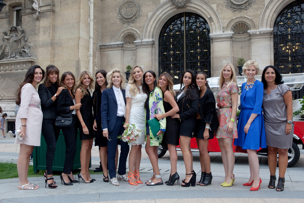 La Team Bride de Chloé.