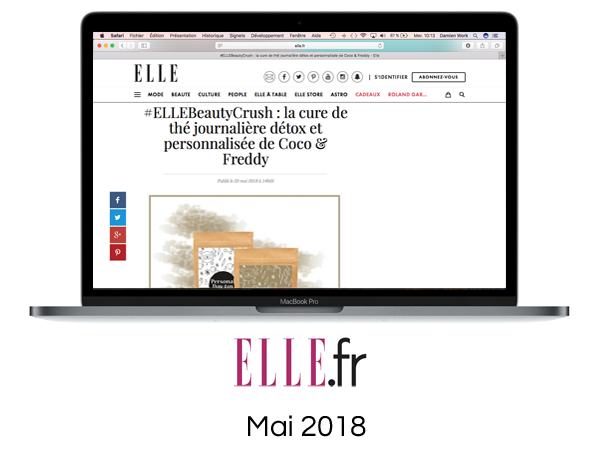 Article Elle.fr Mai 2018